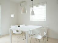 ダイニングテーブル シンプル 白