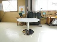 特注円形ダイニングテーブル 1本脚