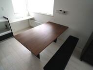 ダイニングテーブル、ベンチ、ソファ 岩見沢 S様邸