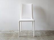 軽さが嬉しい椅子 ホワイト イタリア製