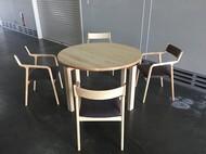 宮崎椅子製作所 MIテーブル & pepe arm chair