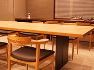 特オリジナルダイニングテーブル チェリー無垢材