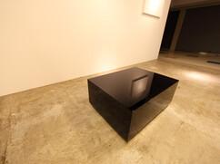 特注ローテーブル 黒(ブラック)鏡面
