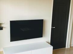 白いテレビボード / UNICUM 東京都国分寺 I様