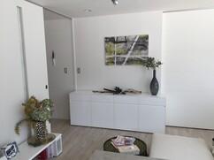 オリジナルサイドボード / 白色鏡面仕上げ / 旭川家具