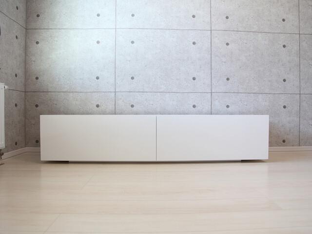 テレビボード ホワイト.JPG