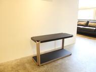 レザー張りテーブル