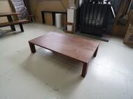 ローテーブル ウォールナット無垢