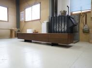 テレビボード ウォールナット W240cm