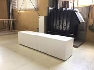 テレビボード 白 W160cm