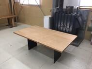 ソファテーブル ナラ材