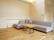 3Pカウチ + 2Pアームレス 生地 : ジュエル ライトグレー 札幌市南区 八城地建様 モデルハウス