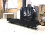 オリジナルテレビボード ブラック5分艶消仕上げ
