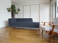 旭川で製作するサイズオーダー可能なソファ