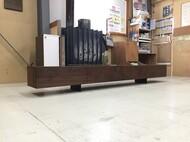 オリジナルテレビボード ウォールナット無垢仕様 W2700mm
